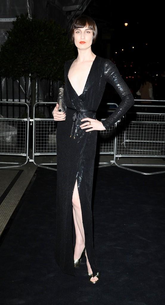 Erin O'Connor lors de la soirée Moët & Chandon Etoile Award Ceremony à Londres, le 19 septembre 2011.