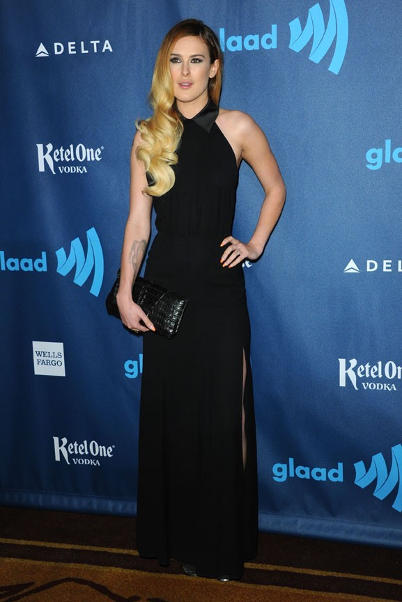 Rumer Willis lors des GLAAD Media Awards à Los Angeles le 20 avril 2013
