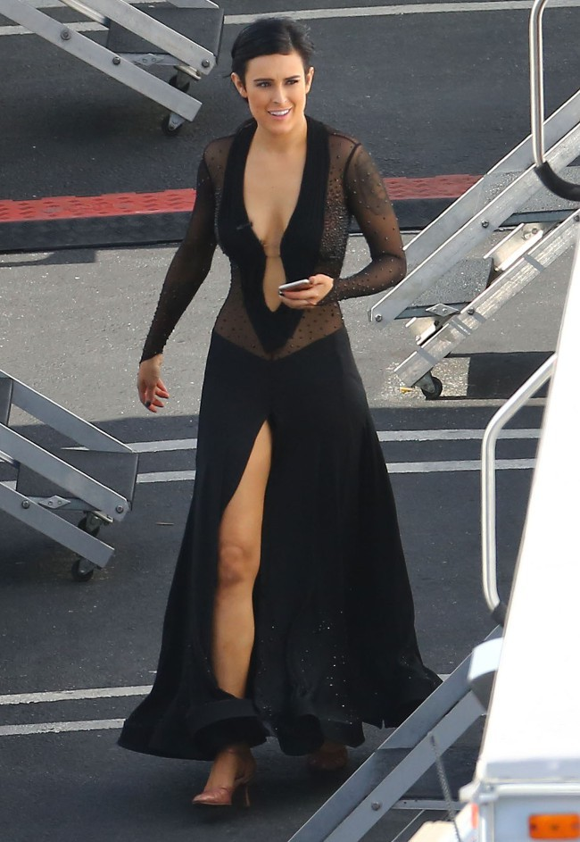 Rumer Willis à Hollywood le 19 mai 2015