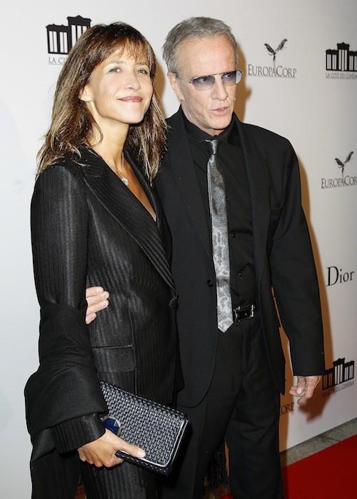 Sophie Marceau et Christophe Lambert à l'inauguration de la cité du cinéma à Saint-Denis en septembre 2012