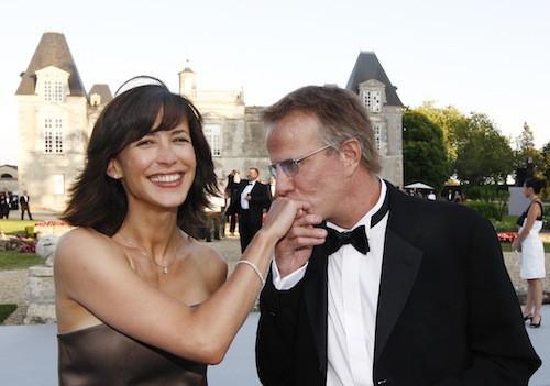 Sophie Marceau et Christophe Lambert à la fête de la Fleur en juin 2009