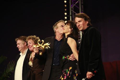 Sophie Marceau et Christophe Lambert au festival de Cabourg en juin 2010