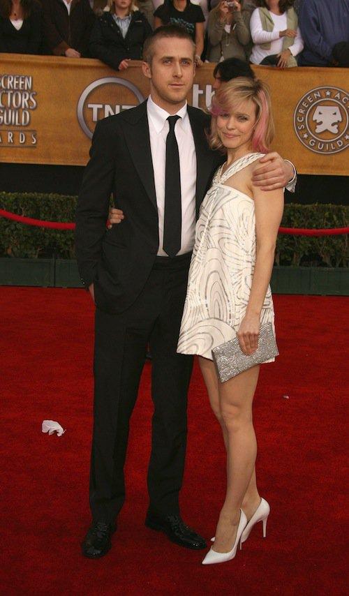Ryan Gosling et Rachem McAdams en 2007