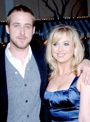 Ryan Gosling avec sa soeur