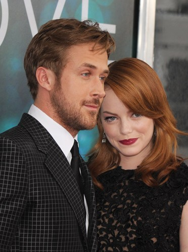 Ryan Gosling et Emma Stone pour la première de Crazy, stupid, love