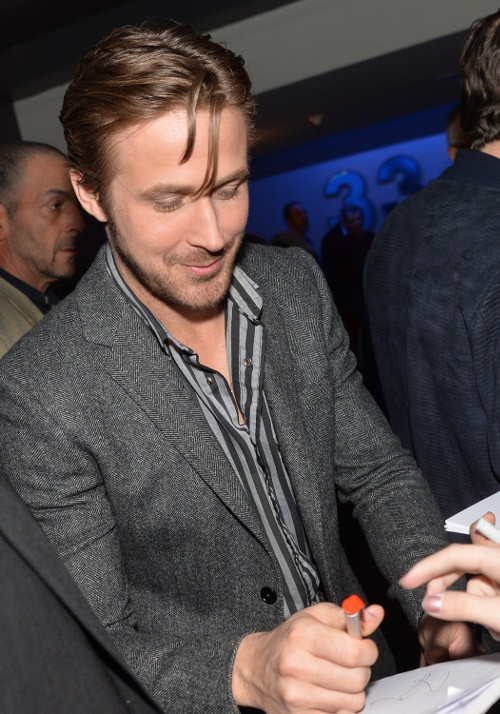 Ryan Gosling à l'avant-première de Lost River organisée à Paris le 7 avril 2015