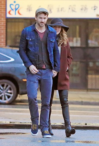 Ryan Reynolds et Blake Lively à Vancouver le 6 avril 2014