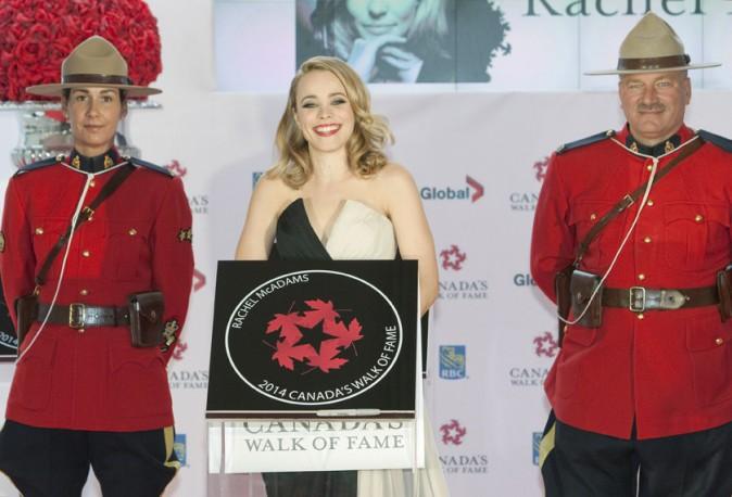 Rachel McAdams à Toronto le 18 octobre 2014