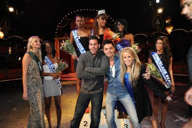 Sabrina, Zelko et Benjmain à l'élection de Miss Black Beauty 2012 !
