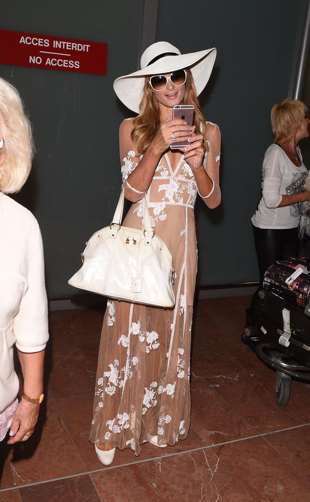Le chapeau comme Paris Hilton