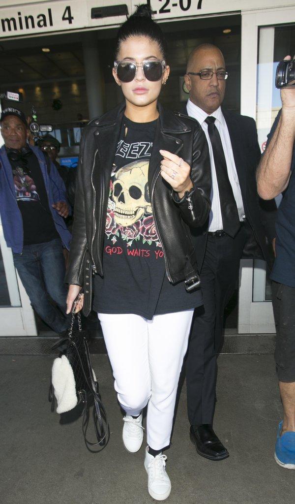 Les lunettes de soleil comme Kylie Jenner