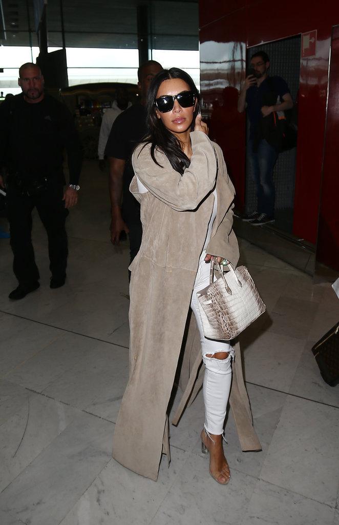Les talons hauts comme Kim Kardashian