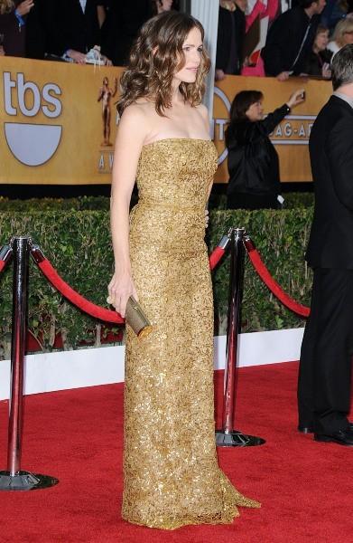 Jennifer Garner lors des SAG Awards à Los Angeles, le 27 janvier 2013.
