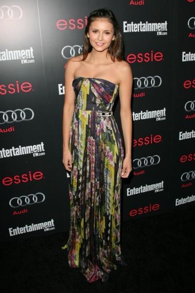 Nina Dobrev lors de la soirée Entertainment Weekly à Los Angeles, le 26 janvier 2013.