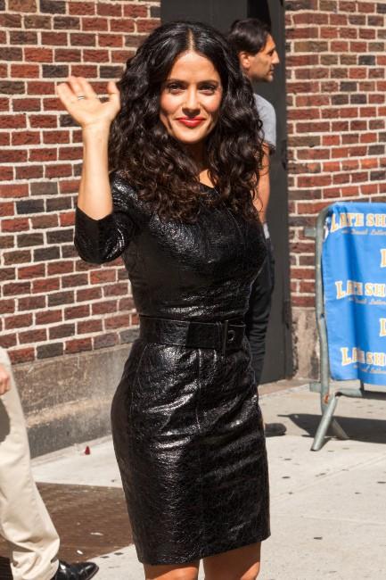 Salma Hayek le 10 juillet 2013 à New York