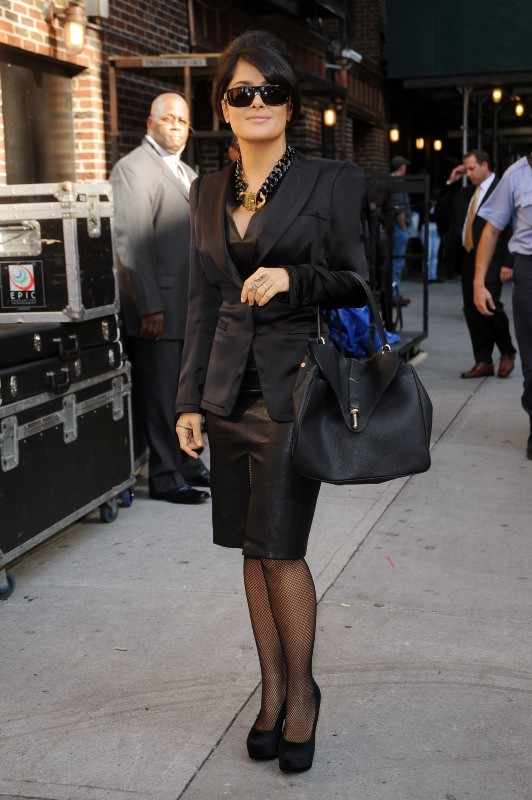 Salma Hayek le 10 octobre 2012 à New York