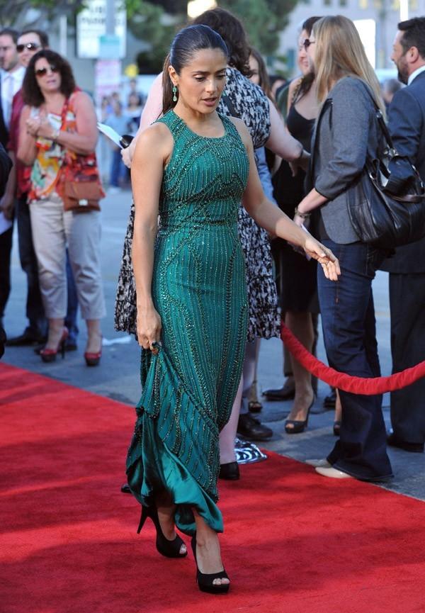 Salma Hayek à l'avant-première de Savages le 25 juin 2012 à Hollywood