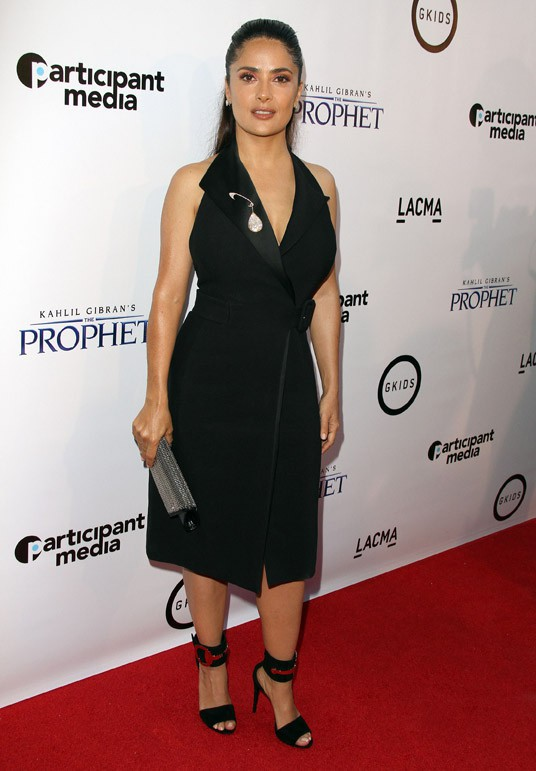 Salma Hayek à Los Angeles le 29 juillet 2015