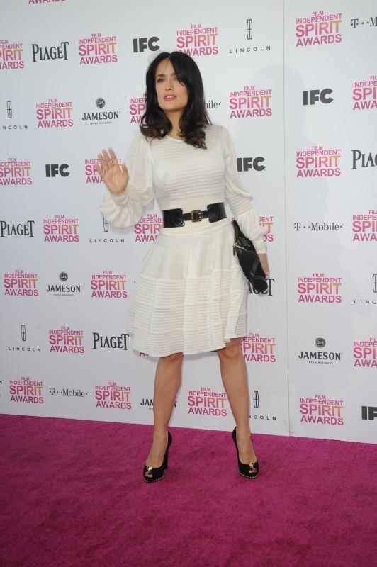 Salma Hayek le 23 février 2013 à Santa Monica