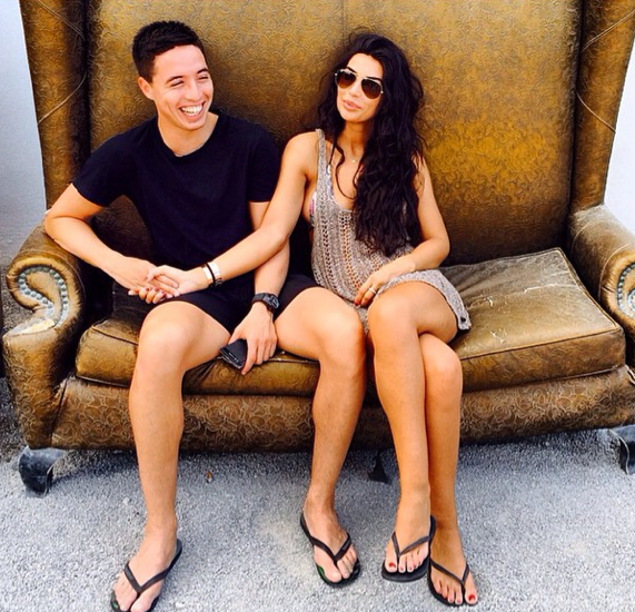 Photos : Samir Nasri et Anara Atanes : les tourtereaux se retrouvent à Ibiza !
