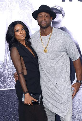Gabrielle Union et Dwayne Wade