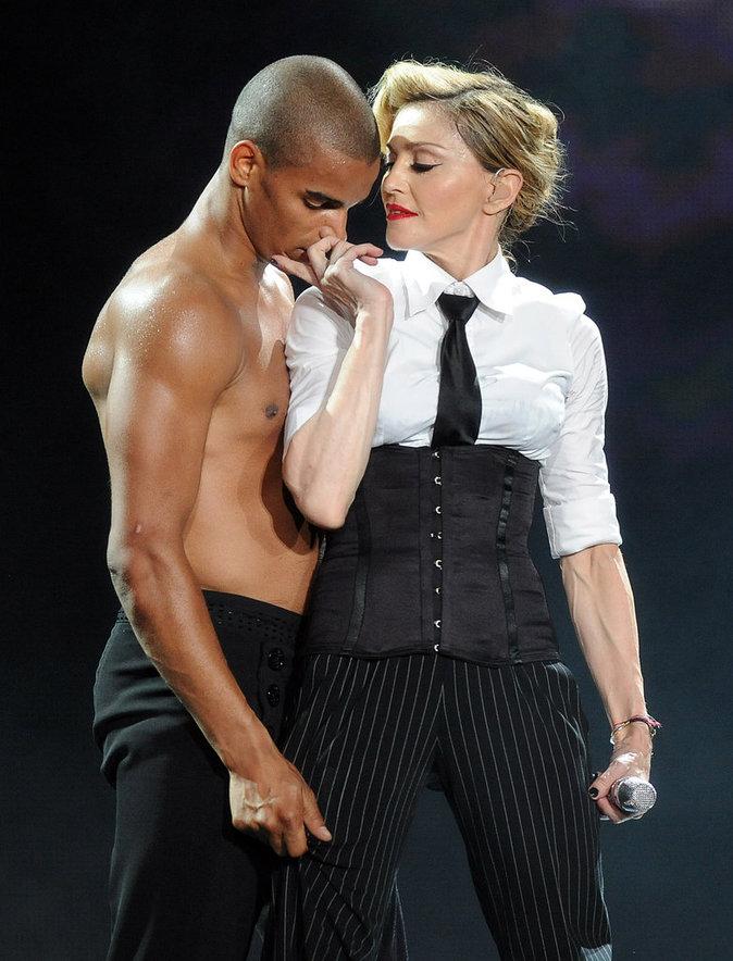 Madonna et Brahim Zaibat