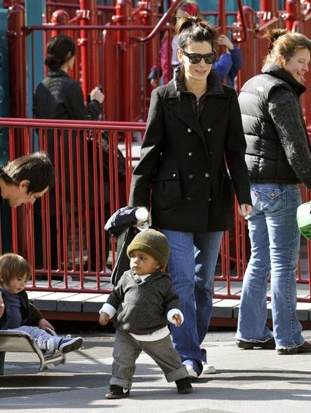 Pas de nounou chez elle, l'actrice s'occupe elle-même de son fils !