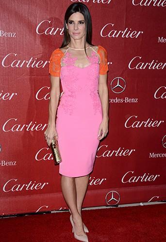 Sandra Bullock à Palm Springs le 4 janvier 2014