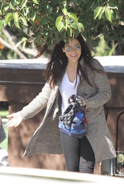 Sandra Bullock à Los Angeles, le 21 février 2012.