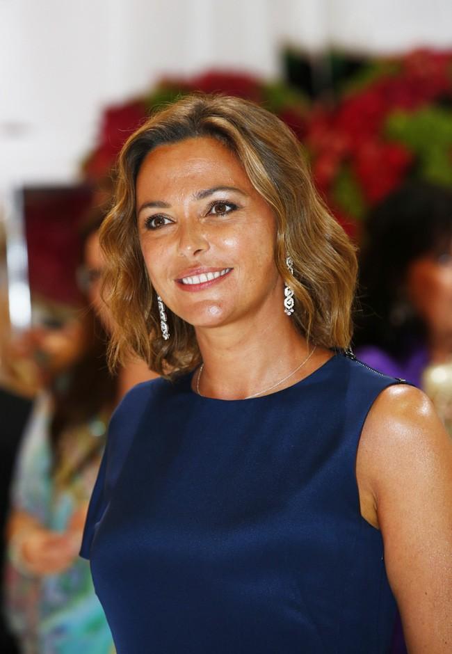 Sandrine Quétier au Gala de la Croix Rouge organisé à Monaco le 1er août 2014