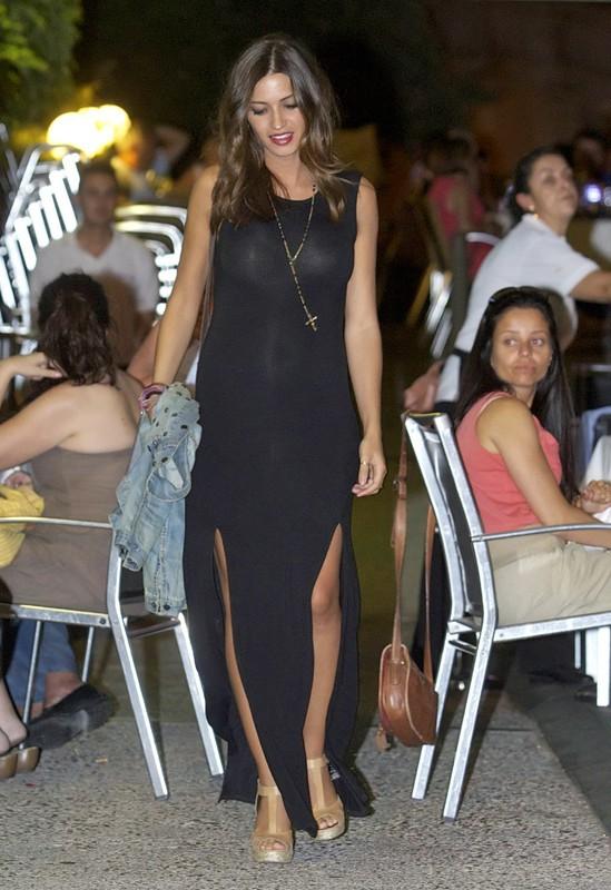 Sara Carbonero et Iker Casillas au restaurant en amoureux