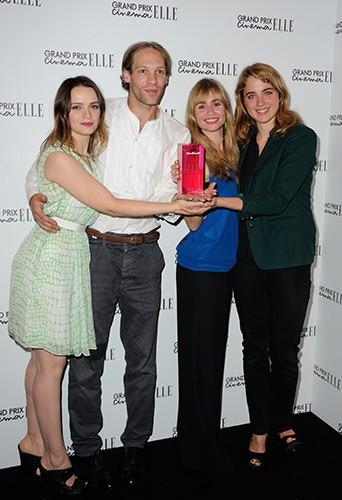 Sara Forestier, Paul Hamy, Adèle Haenel et Katell Quillévéré et à Paris le 7 octobre 2013