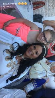 Photos : Sarah Fraisou dans les coulisses de ses fiançailles !