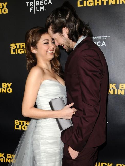 Sarah Hyland et son boyfriend Matt Prokop le 6 janvier 2013 à Los Angeles