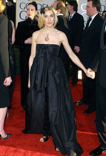 Lors des Golden Globes en 2002