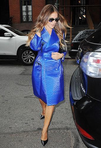 Sarah Jessica Parker à New York le 11 septembre 2014