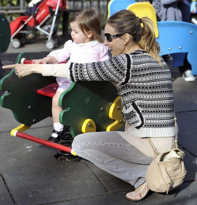 Sarah Jessica Parker adore son rôle de maman !