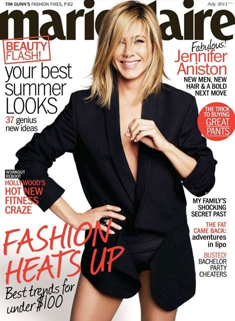 Jennifer Aniston reine du magazine qui se vend bien !