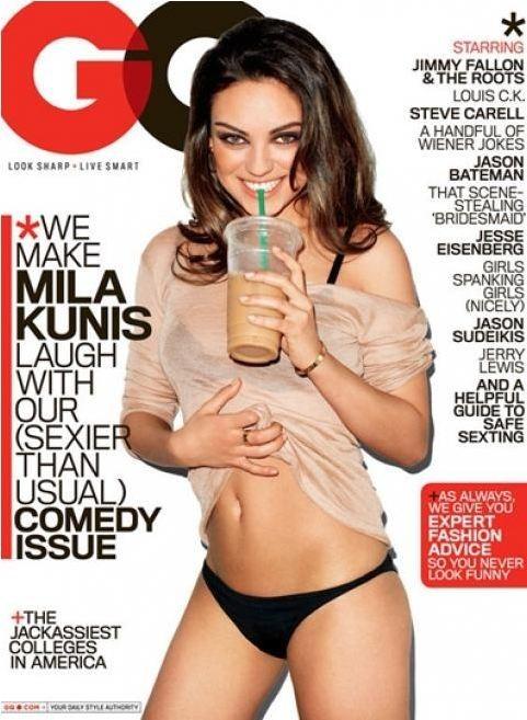 Mila Kunis, nouvelle star au firmament de la presse