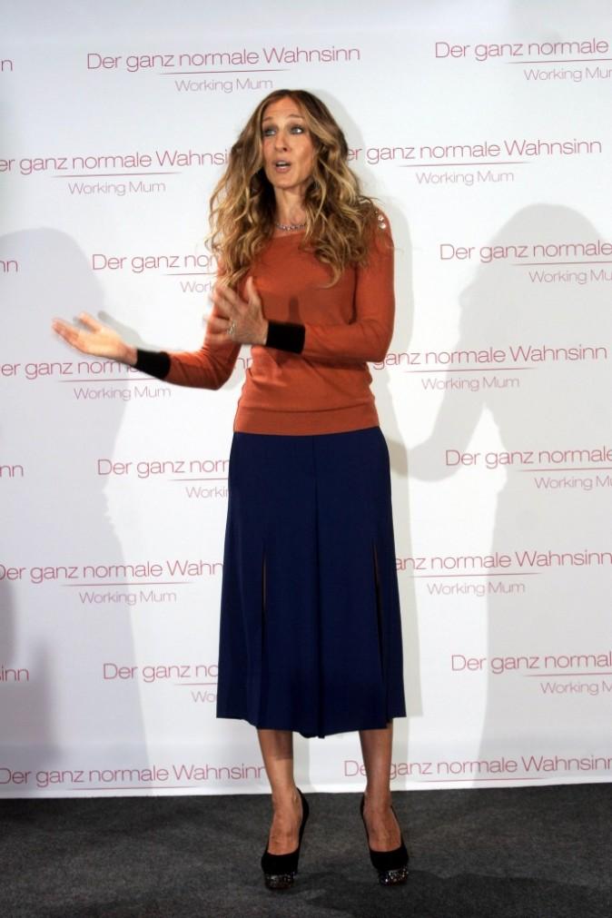 Sarah Jessica Parker en promo à Berlin, le 2 septembre 2011.