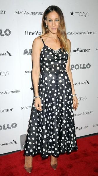 Sarah Jessica Parker lors de l'Apollo Spring Gala à New York, le 10 juin 2013.