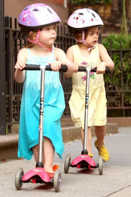 Marion et Tabitha Broderick le 5 juin 2013 à New York