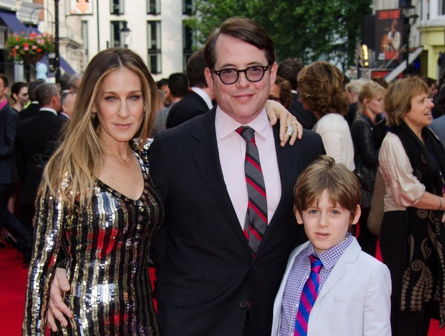 Sarah Jessica Parker et sa famille à Londres, le 25 juin 2013