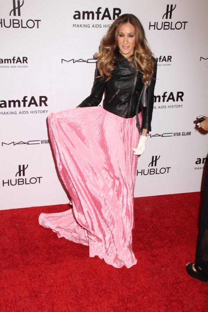 Sarah Jessica Parker lors de la soirée 2012 amfAR New York Gala, le 8 février 2012.