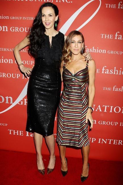 Sarah Jessica Parker et L'Wren Scott le 25 octobre 2012 à New York