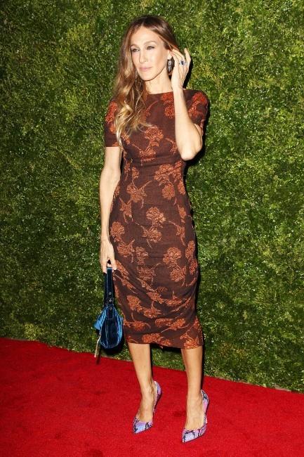 Sarah Jessica Parker lors de la soirée HBO à New York, le 4 décembre 2012.