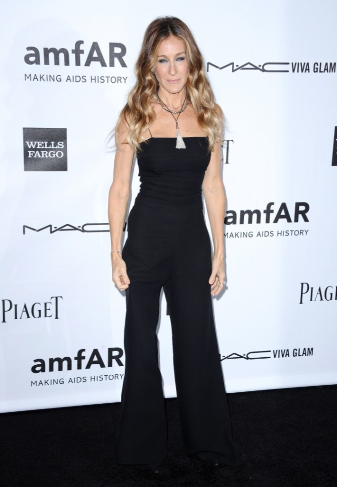 Sarah Jessica Parker lors de l'amfAR Inspiration Gala à Los Angeles, le 11 octobre 2012.