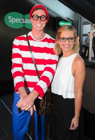 "Photos : Sarah Michelle Gellar : ""aveugle"" sans ses lunettes !"