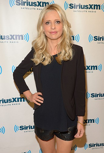 Sarah Michelle Gellar à New-York le 1er octobre 2013