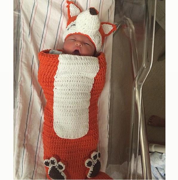 James Hunter, le bébé en pleine forme de Sarah Stage
